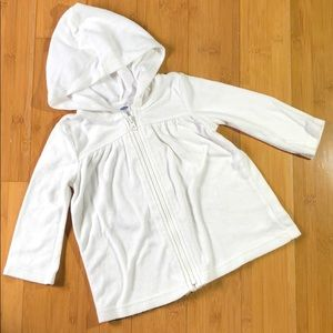 Old Navy Loop-Terry Swim Cover-Up Zip Hoodie 18-24